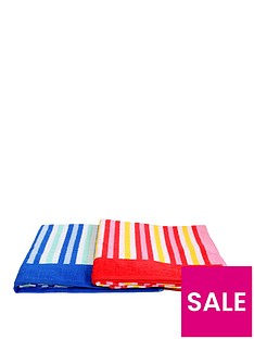 downland-striped-beach-towels