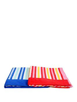 downland-striped-beach-towels