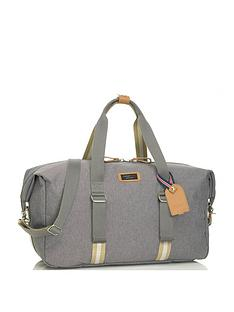 storksak-duffle-changing-bag-grey