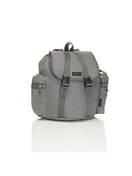 storksak-backpack-changing-bag-grey
