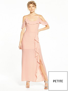 miss-selfridge-petite-ruffle-maxi-dress
