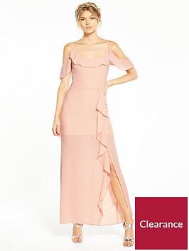 miss-selfridge-petite-ruffle-maxi-dress