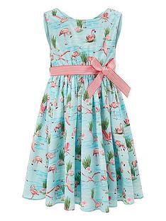 monsoon-fionula-flamingo-dress