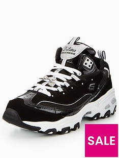 skechers-d-lites-lace-up-trainer
