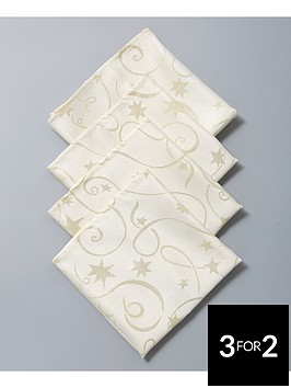 streamers-fabric-christmas-napkins-4-pack
