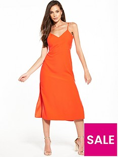 miss-selfridge-strappy-side-split-dress