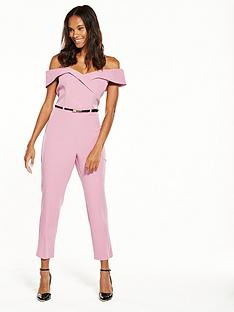 miss-selfridge-pink-bardot-jumpsuit