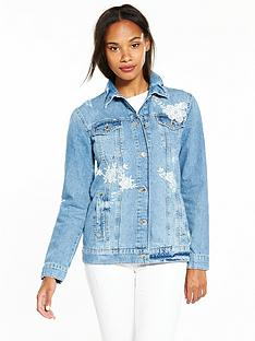 Denim Jackets | Womens Denim Jackets | Very.co.uk