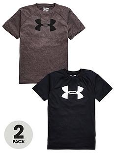 under-armour-boys-tech-logo-tees-2-pack