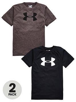under-armour-boys-tech-logo-tees-2-pack