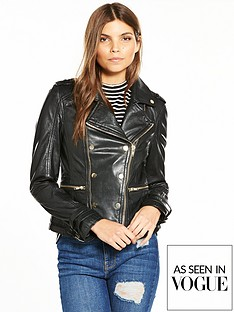 v-by-very-gold-button-leather-biker-jacket