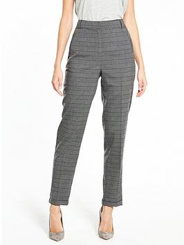 v-by-very-the-tapered-leg-check-trouser