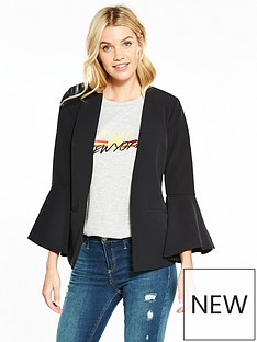 v-by-very-fluted-cuff-jacket