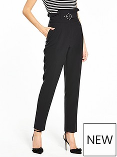 v-by-very-high-waisted-paperbag-belted-trouser
