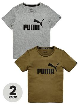 puma-puma-older-boys-no-1-2-pack-essential-tees