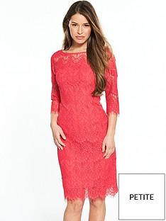 wallis-wallis-petite-lace-scallop-dress