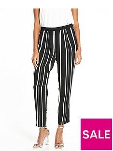 wallis-variated-stripe-trouser-mono
