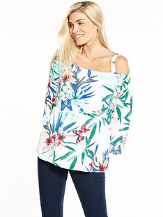 wallis-wallis-tahiti-butterfly-off-the-shoulder-top