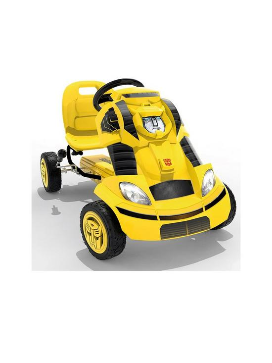 3affacdb5505cd Transformers Bumblebee Go-Kart