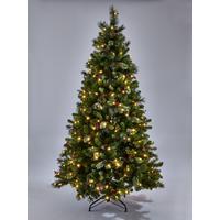 7 Ft Christmas Tree Prelit.7ft Brookfield Pre Lit Christmas Tree