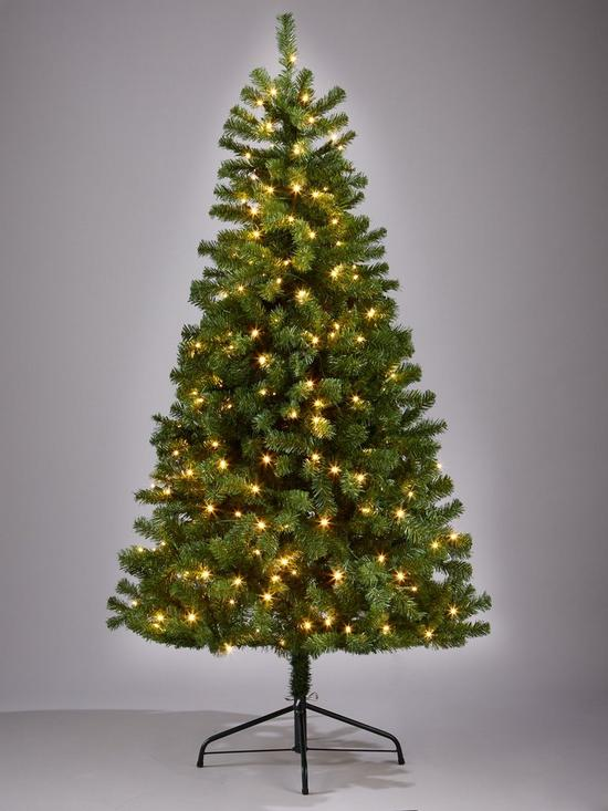 - 7ft Calgary Pre Lit Christmas Tree Very.co.uk