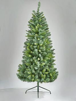 5ft space saving half christmas tree verycouk - Half Christmas Tree