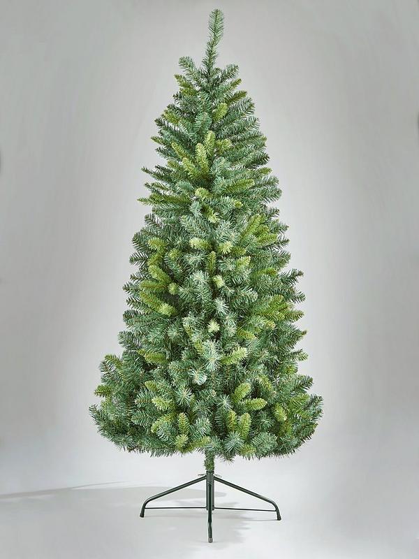 Half Christmas Tree.5ft Space Saving Half Christmas Tree