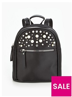 v-by-very-pearl-embellished-mini-backpack