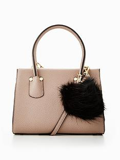 v-by-very-micro-mini-tote-with-pom-pomsnbsp--taupe