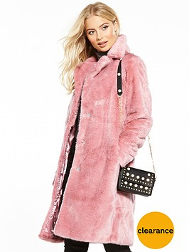 v-by-very-fauxnbspfur-coat-pink