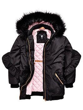 v-by-very-ruffle-longline-hooded-coat