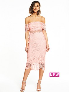 river-island-river-island-lace-bardot-midi-dress