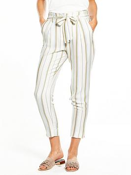 river-island-stripe-tapered-trousers