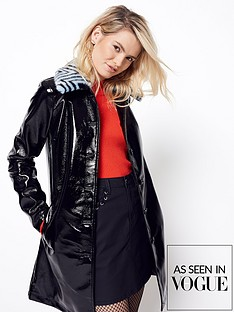 v-by-very-vinyl-coat-with-fauxnbspfur-collar