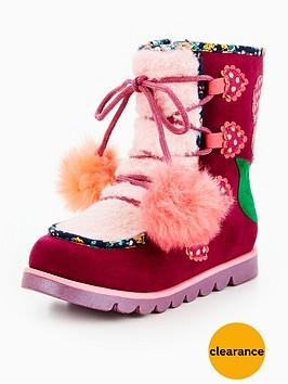 irregular-choice-irregular-choice-girls-mini-warmer-pom-pom-snow-boot