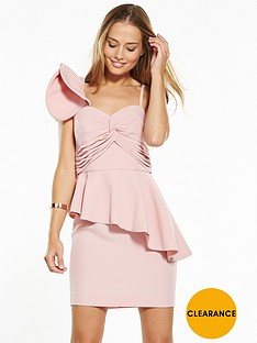 v-by-very-frill-one-shoulder-mini-dress