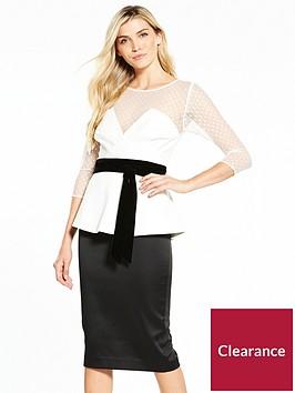 v-by-very-peplum-mono-dress