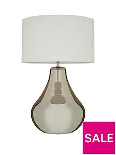 ideal-home-bergamo-smokey-glass-table-lamp