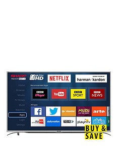 sharp-lc-49cug8362ks-49-inch-4k-ultra-hd-certified-smart-tv--silver