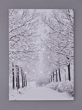 snowy-avenue-light-up-canvas-wall-art-christmas-decoration