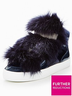 carvela-lovely-np-faux-fur-plimsoll
