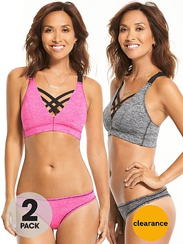 myleene-klass-2-pack-sports-smooth-comfort-thong-grey-marlpink
