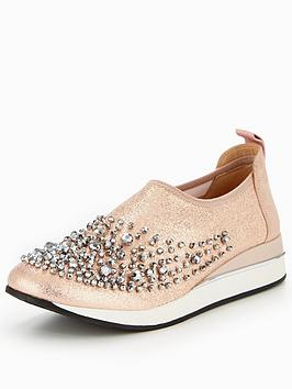 kg-ophelia-embellished-slip-on-trainer-pink