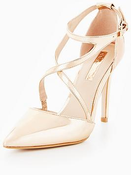 Miss Kg Shelby Asymmetric Strap Court Shoe