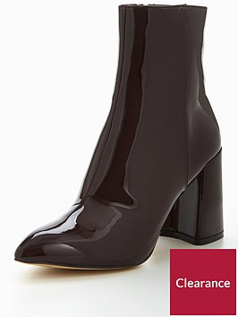 kg-kg-dollar-point-toe-flared-heel-ankle-boot