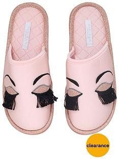 carvela-skylar-eyelash-slipper
