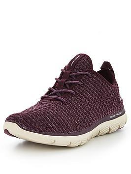 skechers-flex-appeal-20-bold-move-lace-up-trainer-purple