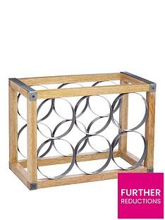 kitchencraft-industrial-kitchen-wine-rack