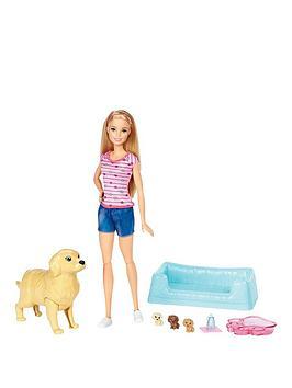 barbie-newborn-pups-doll-andnbsppets