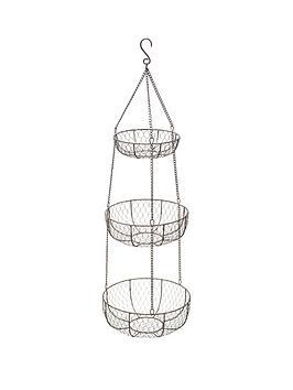 kitchencraft-classic-collection-three-tier-hanging-storage-basket
